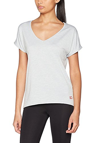 Sundried T Shirt Donna Ampia Adatta per Yoga Palestra e Allenamento di Ethical Activewear Designer Relaxed Baggy Ultra Soft Luxury