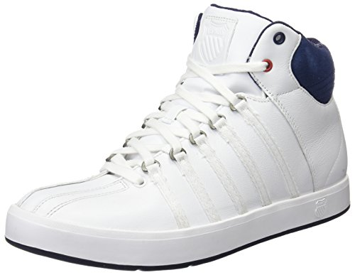 k-swiss-the-classic-ii-mid-zapatillas-unisex-color-blanco-azul-talla-40