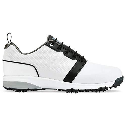 Foot Joy Contour Fit, Chaussures de Golf Homme, Blanc...