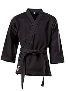 "KWON Karate Jacke ""Traditional"", 8Oz, Schwarz Kwon 170 cm"
