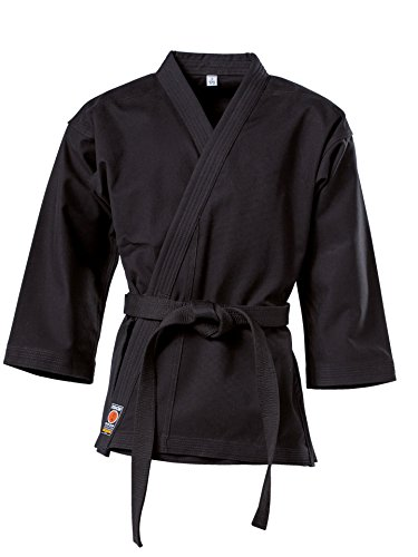 "KWON Karate Jacke ""Traditional"", 8Oz, Schwarz Kwon 140 cm"