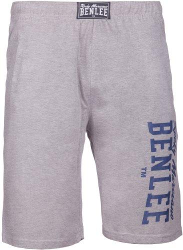 BENLEE Rocky Marciano, Pantaloni sportivi corti Uomo Spinks Grigio (Steingrau)