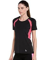 Yoga las mujeres ejercicio, Dance Fitness, color black fsls6520, tamaño XL