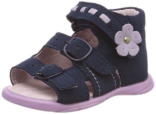 Däumling Baby Mädchen Becky Sandalen, Blau (Turino Tiefsee), 21 EU
