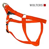 Wolters | Geschirr Basic One-Touch in Orange | Brustumfang 75 - 100 x B 2,5 cm