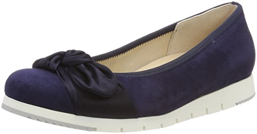 Gabor Shoes Damen Comfort Sport Geschlossene Ballerinas, Blau (Bluette), 38 EU