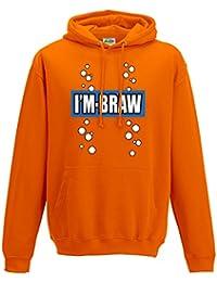 Unisex I'm braw retro fizzy hoodie