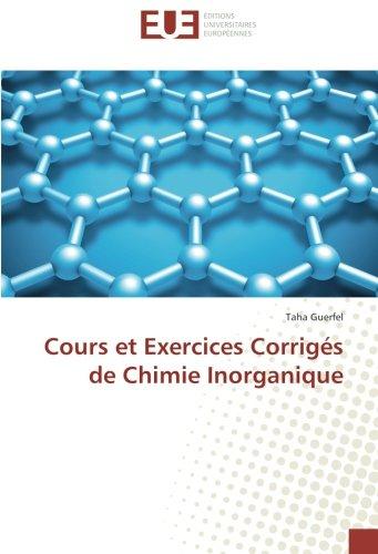 Cours et Exercices Corrigés de Chimie Inorganique