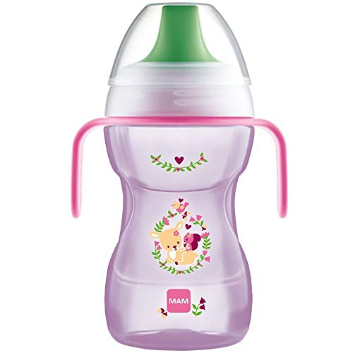 MAM FUN TO DRINK CUP & HANDLES 270ML (ROSA) Cup Online