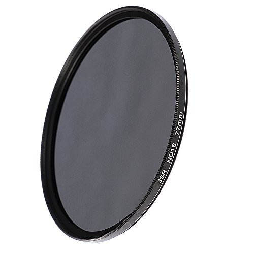 Fotga 77mm ND16 neutrale Dichte Neutral Density ND Objektiv Filter 4 Stops für DSLR Kamera Canon Nikon Pentax Sony (77mm)