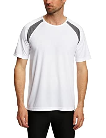 Hanes Cool DRI Contrast Men's T-Shirt White Small