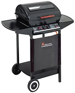 landmann grill chef 12375 ft 2 burner gas barbecue with flame tamer garden outdoors. Black Bedroom Furniture Sets. Home Design Ideas