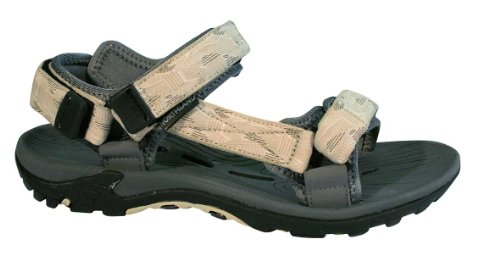 Northland Professional Outback Sandal, Sandales mixte adulte Multicolore (Light Grey/Latte)