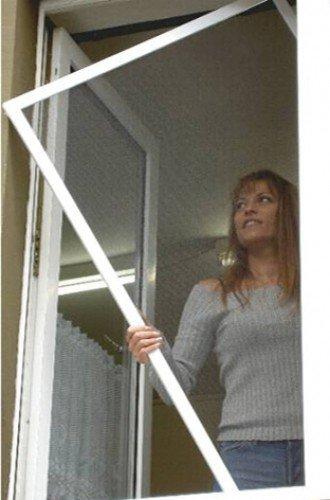 Universal Insektenschutzfenster-895545, braun, 150 x 140 x 30 cm, US895545
