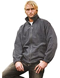 Active Fleece Jacke mit durchgehendem Reißverschluss