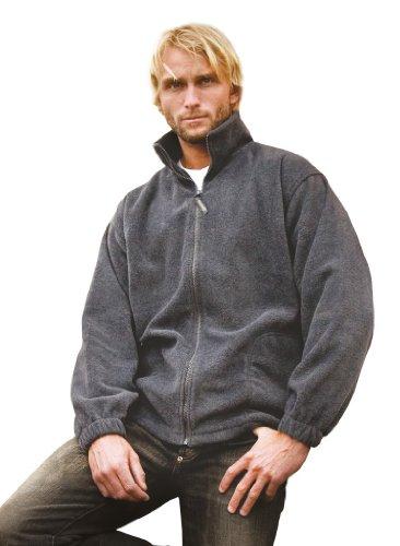 Result Full Zip Active Fleece Jacket Forest Green