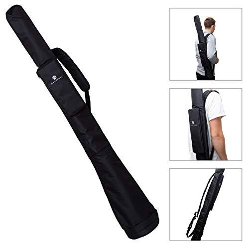Australian Treasures - DIDGERIDOO TASCHE 160 cm - Nylon PRO Didgeridoo Tasche Glocke Ø 17 cm. Verstellbaren Tragegurt