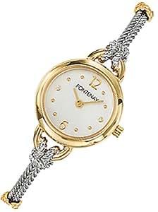 Fontenay - UB2369WL - Montre Femme - Quartz Analogique - Ronde - Cadran Crème - Bracelet Cable Acier