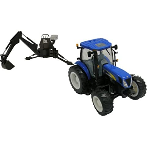 Britains Big Farm New Holland Tractor and Backhoe