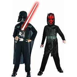 Rubies Star Wars 154559S - Disfraz de Darth Maul para niño (3 años) (talla S)