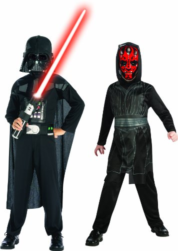 Darth Maul Star Wars Kostüm - Star War - 154559 - Kostüm - bi-pack Darth Vader und Darth