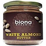 Biona, Beurre blanc d'amande organique - Idéal pour faire du lait d'amande 170g