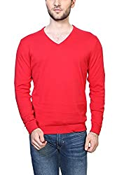 Peter England Red Sweater