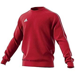 adidas Men's Core 18 Sweat Top, Power Red/White, X-Large