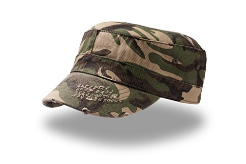 Urban Army Destroyed Cap, Camouflage, L