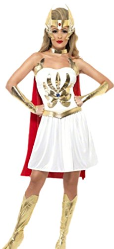 Karnevalsbud - Damen Gladiatorin Karnevalskostüm , M, Mehrfarbig (Keira Knightley Piraten Der Karibik Kostüme)