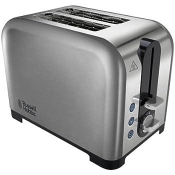 Russell Hobbs Ebony 2-Slice Toaster Matt Black