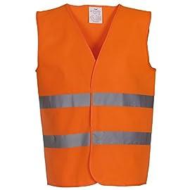 Giubbotto Visibile XXXL Gilet di Lavoro FEMOR Gilet di Sicurezza Protezione di Avvertimento con Alta Visibilità Uomo Donna Anziano Bambino 10 Pezzi,Giallo