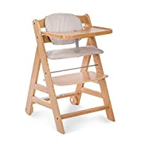 Hauck Beta Plus Height Adjustable Wooden Highchair