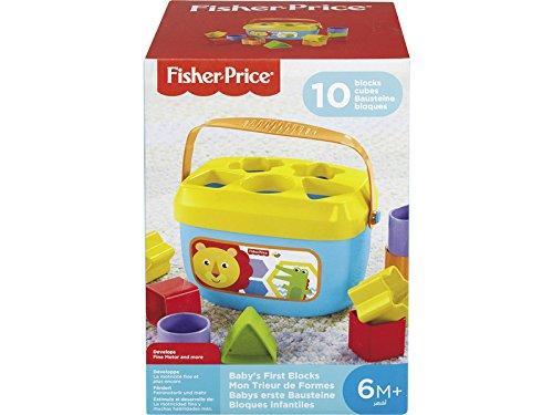 Fisher-Price Bloques infantiles, juguete para bebé +6 meses.