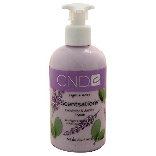 CND Hand- und Bodylotion Scentsations Lavendel und Jojoba, 1er Pack (1 x 245 ml)