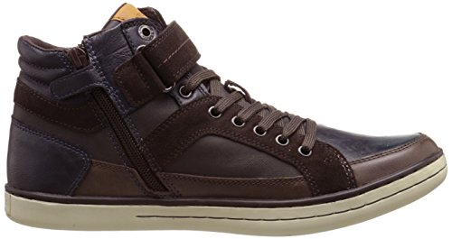Geox Garcia B A, Sneakers Hautes garçon Marron (C1696)