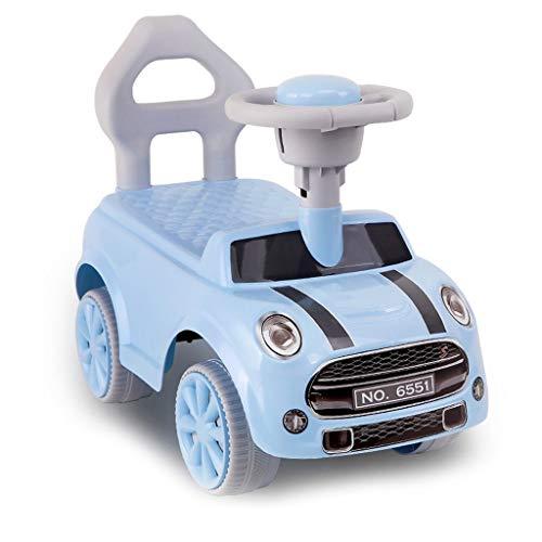 Veicoli a spinta e ruote Automobile di Torsione dei Bambini Bambino di 1-3 Anni Che Cammina motorino Giocattolo a Quattro Ruote Auto con Un Corno Ragazza di Ragazza Auto di Oscillazione Auto