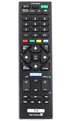allimity RM-ED054 Sostituito il Telecomando adatto per SONY TV KDL-32R420A KDL-32R421A KDL-32R423A KDL-32R424A KDL-40R470A KDL-40R471A KDL-40R473A KDL-40R474A KDL-46R470A KDL-46R473A
