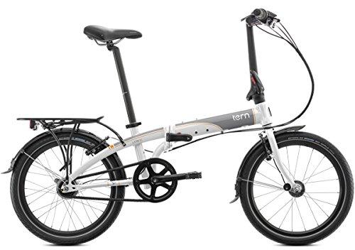 tern Link D7i - Bicicletas plegables - 20' gris/blanco 2017