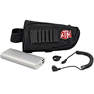 ATN Extended life Battery Pack 20,000mAh w/USB Connector, provides up to 22 hrs of continuous use