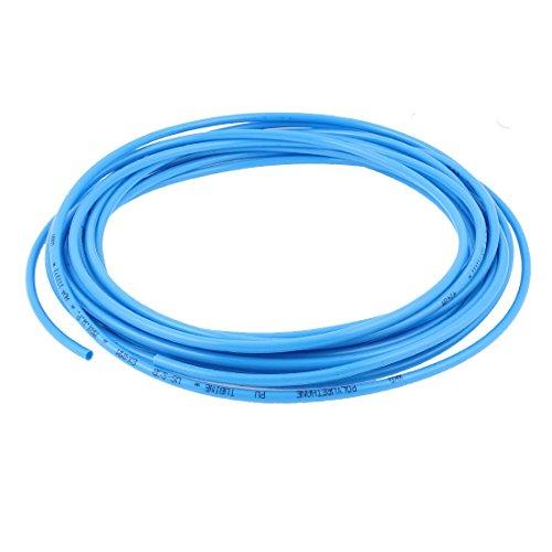 Flexibler Luftschlauch (sourcingmap® PU Flexibler Kompressor Pneumatischer Rohrschlauch Luftschlauch 6mm x 4mm 10M)