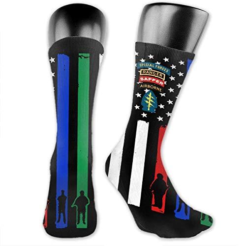 Special Forces Ranger Sapper Airborne Unisex The-Calf Socks Crew Socks Funny Sock Women's Socks -