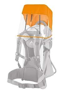 Vaude 10799 Toit pare-soleil/pluie pour porte-bébé (Orange)