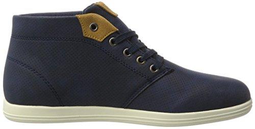 British Knights Herren Copal Mid Sneaker Blau (navy/cognac)