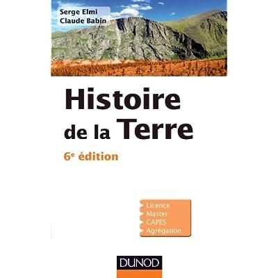 Histoire de la Terre 6ème édition