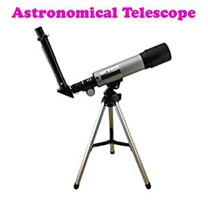 Gadget Hero's 18x - 90X Astronomical Land & Sky Telescope Optical Glass Metal Tube Refractor