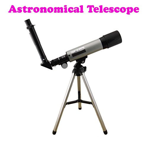 Gadget Hero's 18x - 90X Astronomical Land & Sky Telescope Optical Glass Metal Tube Refractor