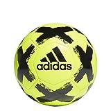 adidas STARLANCER CLB Balón Fútbol Hombre, Amarillo (Amasol/Negro), 4