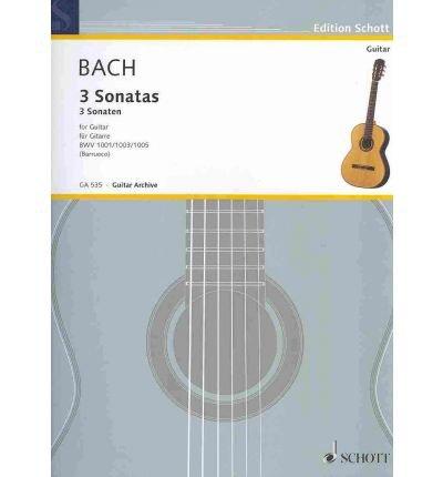 [(3 Sonatas for Guitar Solo: From Sonata for Violin, Bwv