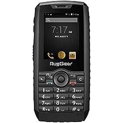 RugGear RG160 Téléphone Outdoor Incassable Antichoc Résistant et Etanche IP68, Débloqué 3G Dual SIM